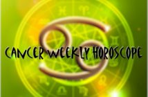 Cancer Weekly Horoscope