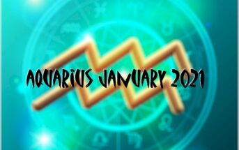 Aquarius ♒ January 2021 Horoscope