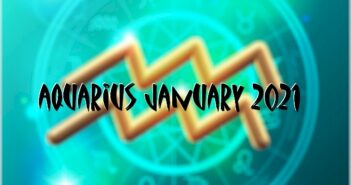 Aquarius ♒ January 2021 Horoscope