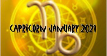 Capricorn ♑ January 2021 Horoscope