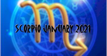 Scorpio ♏ January 2021 Horoscope